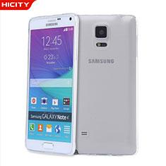 Samsung Galaxy Note 4 Duos N9100 Dual SIM用極薄ソフトケース シリコンケース 耐衝撃 全面保護 クリア透明 T03 サムスン クリア