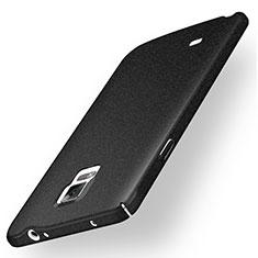 Samsung Galaxy Note 4 Duos N9100 Dual SIM用ハードケース カバー プラスチック サムスン ブラック