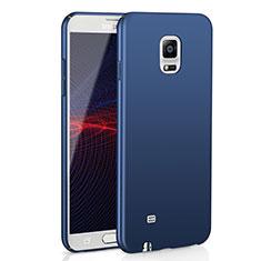 Samsung Galaxy Note 4 Duos N9100 Dual SIM用ハードケース プラスチック 質感もマット M02 サムスン ネイビー