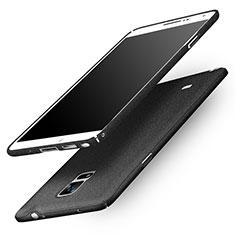 Samsung Galaxy Note 4 Duos N9100 Dual SIM用ハードケース カバー プラスチック Q01 サムスン ブラック