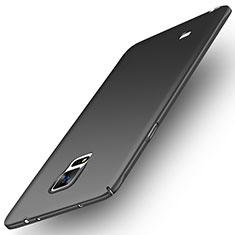 Samsung Galaxy Note 4 Duos N9100 Dual SIM用ハードケース プラスチック 質感もマット M04 サムスン ブラック