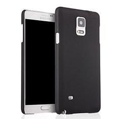 Samsung Galaxy Note 4 SM-N910F用ハードケース プラスチック 質感もマット サムスン ブラック