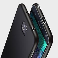 Samsung Galaxy Note 4 SM-N910F用極薄ソフトケース シリコンケース 耐衝撃 全面保護 サムスン ブラック