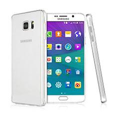 Samsung Galaxy Note 5 N9200 N920 N920F用ハードケース クリスタル クリア透明 サムスン クリア