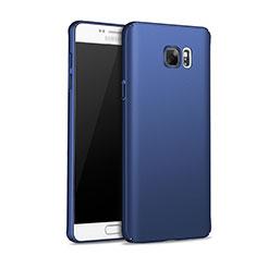 Samsung Galaxy Note 5 N9200 N920 N920F用ハードケース プラスチック 質感もマット M01 サムスン ネイビー