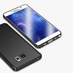 Samsung Galaxy Note 5 N9200 N920 N920F用ハードケース プラスチック 質感もマット M01 サムスン ブラック