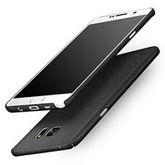 Samsung Galaxy Note 5 N9200 N920 N920F用ハードケース カバー プラスチック サムスン ブラック