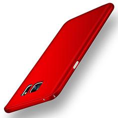 Samsung Galaxy Note 5 N9200 N920 N920F用ハードケース プラスチック 質感もマット M02 サムスン レッド