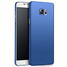 Samsung Galaxy Note 5 N9200 N920 N920F用ハードケース プラスチック 質感もマット M03 サムスン ネイビー