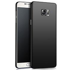 Samsung Galaxy Note 5 N9200 N920 N920F用ハードケース プラスチック 質感もマット M03 サムスン ブラック