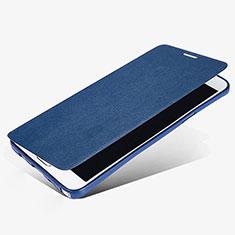 Samsung Galaxy Note 5 N9200 N920 N920F用手帳型 レザーケース スタンド L02 サムスン ネイビー