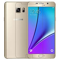 Samsung Galaxy Note 5 N9200 N920 N920F用強化ガラス 液晶保護フィルム T02 サムスン クリア