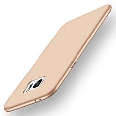 Samsung Galaxy Note 7用極薄ソフトケース シリコンケース 耐衝撃 全面保護 S01 サムスン ゴールド