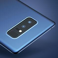 Samsung Galaxy Note 8用極薄ソフトケース シリコンケース 耐衝撃 全面保護 サムスン ネイビー