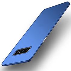Samsung Galaxy Note 8用ハードケース プラスチック 質感もマット サムスン ネイビー