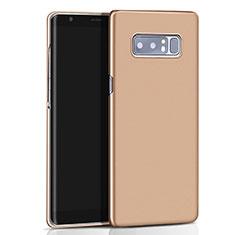 Samsung Galaxy Note 8用ハードケース プラスチック 質感もマット M01 サムスン ゴールド