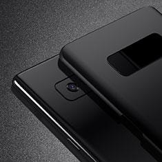 Samsung Galaxy Note 8用ハードケース プラスチック 質感もマット M02 サムスン ブラック