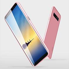 Samsung Galaxy Note 8用極薄ソフトケース シリコンケース 耐衝撃 全面保護 S06 サムスン ピンク