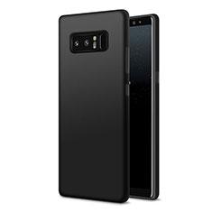 Samsung Galaxy Note 8用極薄ソフトケース シリコンケース 耐衝撃 全面保護 S07 サムスン ブラック