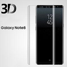 Samsung Galaxy Note 8用強化ガラス 液晶保護フィルム 3D サムスン クリア