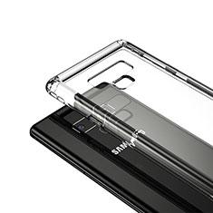 Samsung Galaxy Note 9用極薄ソフトケース シリコンケース 耐衝撃 全面保護 クリア透明 T05 サムスン クリア