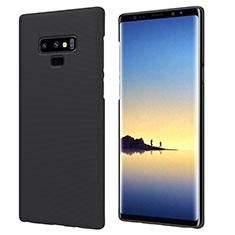 Samsung Galaxy Note 9用ハードケース プラスチック 質感もマット M04 サムスン ブラック