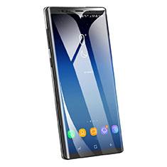 Samsung Galaxy Note 9用強化ガラス フル液晶保護フィルム F05 サムスン ブラック