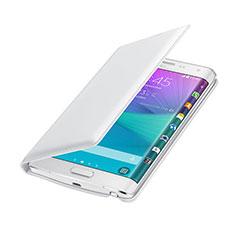 Samsung Galaxy Note Edge SM-N915F用手帳型 レザーケース サムスン ホワイト