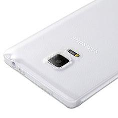 Samsung Galaxy Note Edge SM-N915F用極薄ソフトケース シリコンケース 耐衝撃 全面保護 クリア透明 サムスン クリア