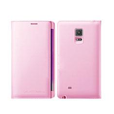 Samsung Galaxy Note Edge SM-N915F用手帳型 レザーケース スタンド L01 サムスン ピンク