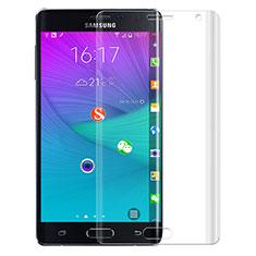 Samsung Galaxy Note Edge SM-N915F用高光沢 液晶保護フィルム F02 サムスン クリア