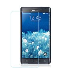 Samsung Galaxy Note Edge SM-N915F用強化ガラス 液晶保護フィルム サムスン クリア