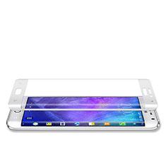 Samsung Galaxy Note Edge SM-N915F用強化ガラス フル液晶保護フィルム サムスン ホワイト