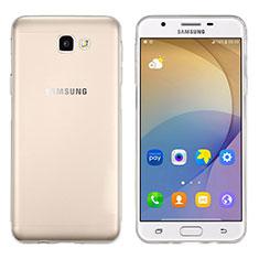 Samsung Galaxy On5 (2016) G570 G570F用極薄ソフトケース シリコンケース 耐衝撃 全面保護 クリア透明 サムスン クリア