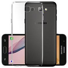 Samsung Galaxy On5 (2016) G570 G570F用極薄ソフトケース シリコンケース 耐衝撃 全面保護 クリア透明 T02 サムスン クリア