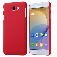 Samsung Galaxy On5 (2016) G570 G570F用ハードケース プラスチック 質感もマット サムスン レッド