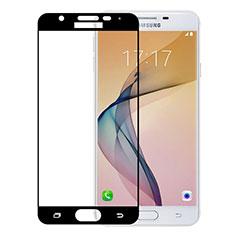 Samsung Galaxy On5 (2016) G570 G570F用強化ガラス フル液晶保護フィルム サムスン ブラック