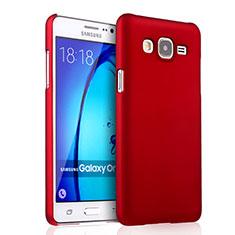 Samsung Galaxy On5 G550FY用ハードケース プラスチック 質感もマット サムスン レッド