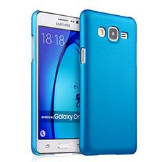 Samsung Galaxy On5 G550FY用ハードケース プラスチック 質感もマット サムスン ブルー