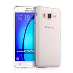 Samsung Galaxy On5 G550FY用ハードケース クリスタル クリア透明 サムスン クリア