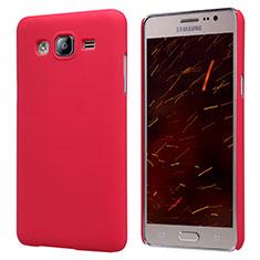 Samsung Galaxy On5 G550FY用ハードケース プラスチック 質感もマット M02 サムスン レッド