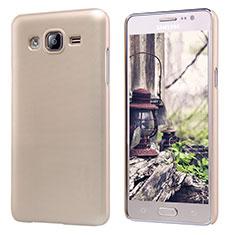 Samsung Galaxy On5 G550FY用ハードケース プラスチック 質感もマット M02 サムスン ゴールド