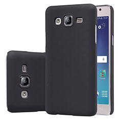 Samsung Galaxy On5 G550FY用ハードケース プラスチック 質感もマット M02 サムスン ブラック