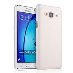 Samsung Galaxy On5 Pro用ハードケース プラスチック 質感もマット サムスン ホワイト