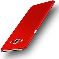 Samsung Galaxy On7 G600FY用ハードケース プラスチック 質感もマット M02 サムスン レッド