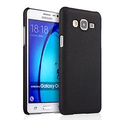 Samsung Galaxy On7 G600FY用ハードケース プラスチック 質感もマット サムスン ブラック