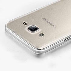 Samsung Galaxy On7 G600FY用極薄ソフトケース シリコンケース 耐衝撃 全面保護 クリア透明 サムスン クリア