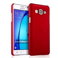 Samsung Galaxy On7 Pro用ハードケース プラスチック 質感もマット サムスン レッド