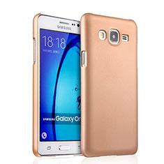 Samsung Galaxy On7 Pro用ハードケース プラスチック 質感もマット サムスン ゴールド