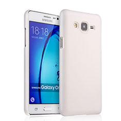 Samsung Galaxy On7 Pro用ハードケース プラスチック 質感もマット サムスン ホワイト